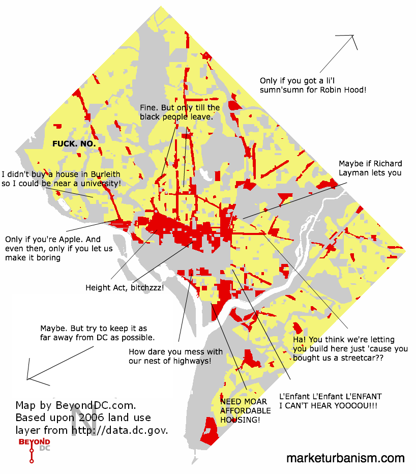 Annotated simplified DC land use map - Market Urbanism on dc district map, dc transportation map, dc plat maps, dc land map, dc public transit map, dc truck route map, dc flood map, dc topography map, dc county map, dc roads map, dc city map, dc topo map, dc planning map, dc traffic map, dc speed limits map, dc building map, dc streets map, dc comprehensive plan map, dc crime rate map, dc parks map,